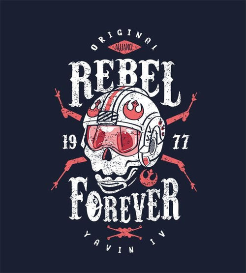Rebel Forever T-Shirts by Olipop - Pixel Empire