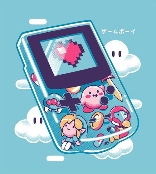 Gameboy Folks T-Shirts by Ilustrata - Pixel Empire
