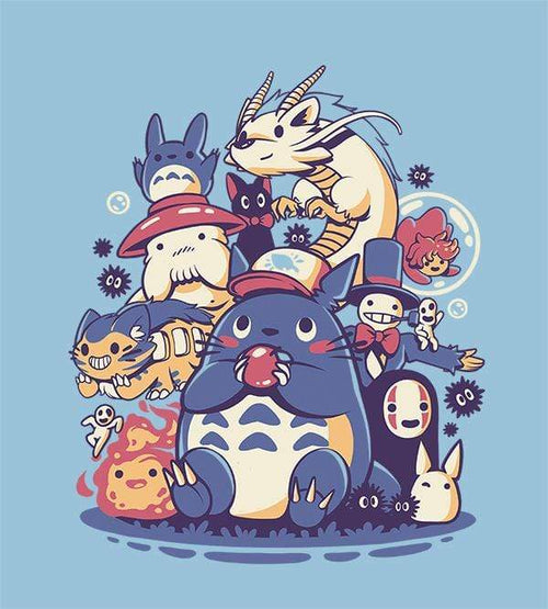 Creatures Spirits And Friends T-Shirts by Ilustrata - Pixel Empire