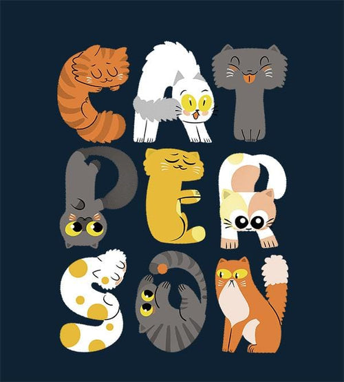Cat Person Hoodies by Anna-Maria Jung - Pixel Empire