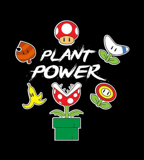 Plant Power Hoodies by Edge Fitness - Pixel Empire