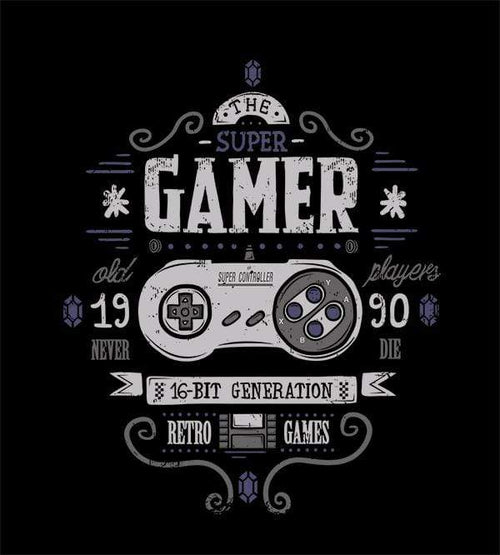 Super Gamer Hoodies by Typhoonic - Pixel Empire