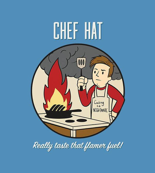 Chef Hat T-Shirts by UpIsNotJump - Pixel Empire