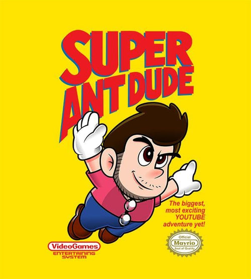 Super AntDude T-Shirts by AntDude - Pixel Empire