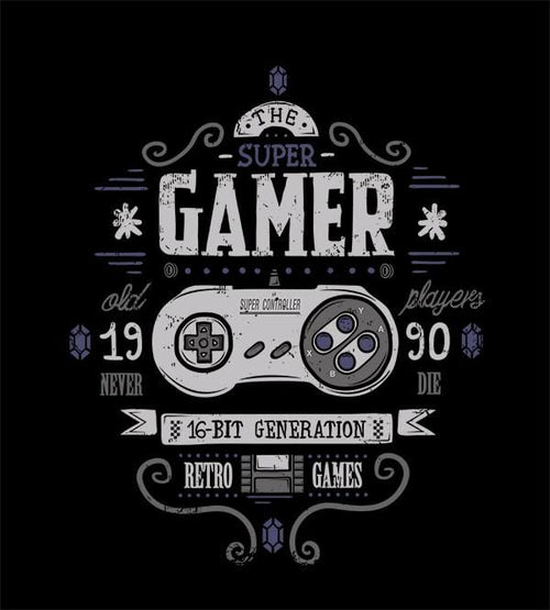 Super Gamer T-Shirts by Typhoonic - Pixel Empire