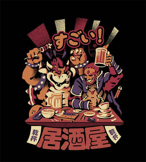 Villain's Izakaya T-Shirts by Ilustrata - Pixel Empire
