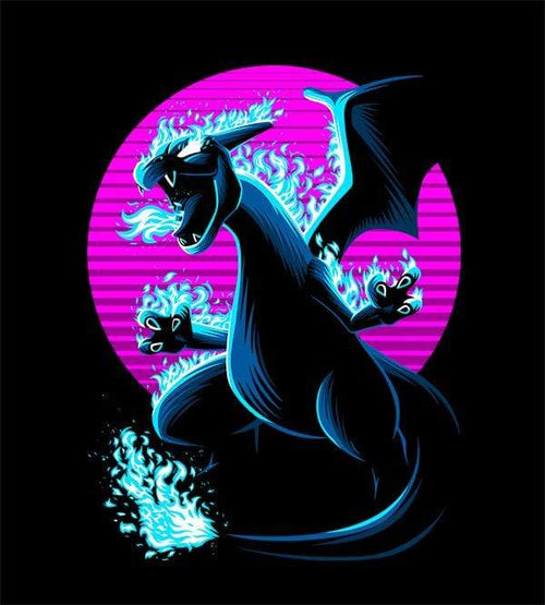 Retro Dragon T-Shirts by Alberto Cubatas - Pixel Empire