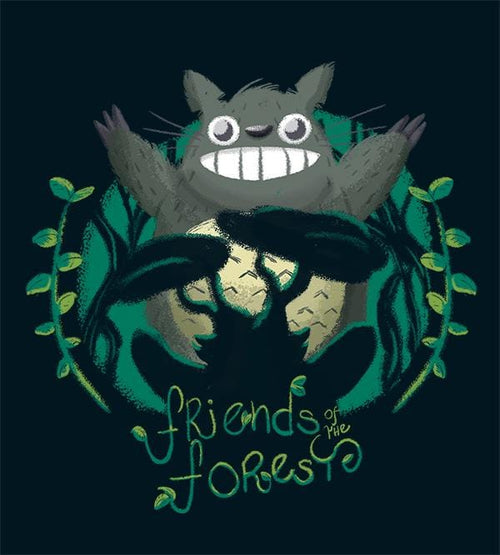 Friends Of The Forest Hetsu T-Shirts by Andre Fellipe - Pixel Empire
