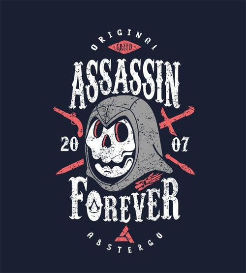 Assassin Forever Hoodies by Olipop - Pixel Empire