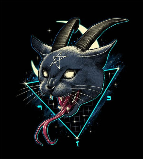 Rad Devil Cat Hoodies by Vincent Trinidad - Pixel Empire