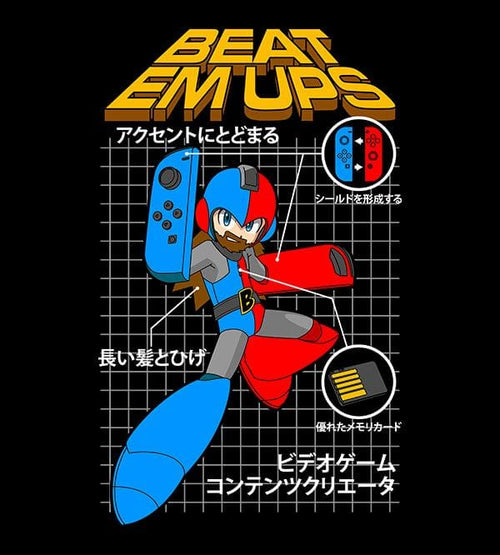 Mega Beatemups Hoodies by Beatemups - Pixel Empire