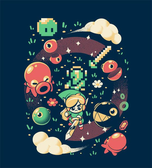 Link's Awakening Hoodies by Ilustrata - Pixel Empire