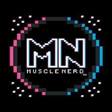 8-bit Retro Muscle Nerd T-Shirts by Muscle Nerd - Pixel Empire