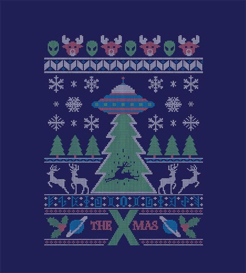 The X Mas Hoodies by Diego Pedauyé - Pixel Empire