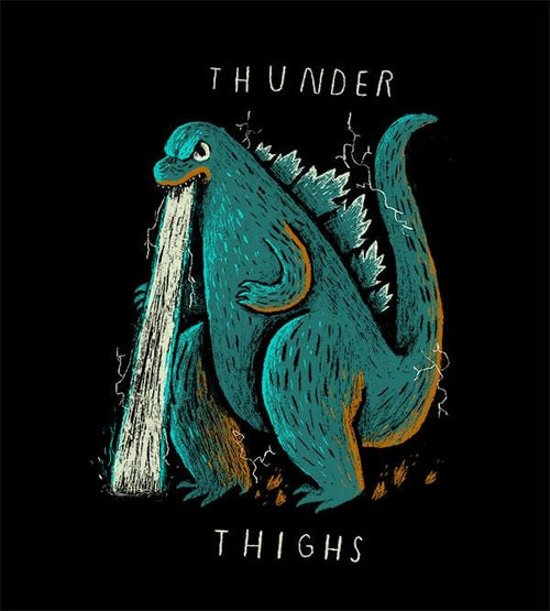 Thunder Thighs T-Shirts by Louis Roskosch - Pixel Empire