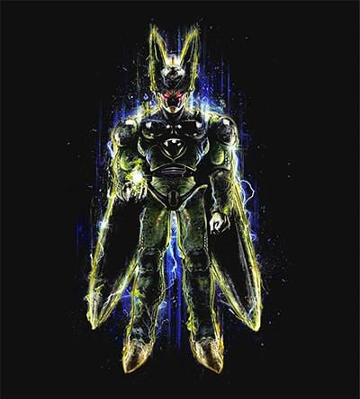 Perfect Cell T-Shirts by Barrett Biggers - Pixel Empire