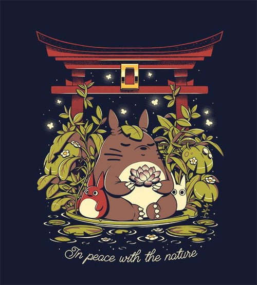 In Peace With The Nature Hoodies by Ilustrata - Pixel Empire