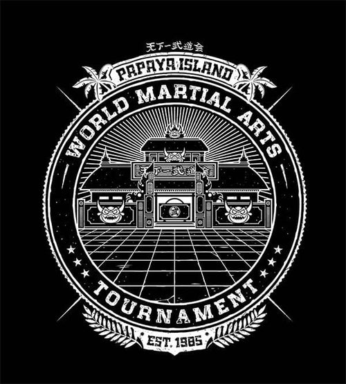 World Martial Arts Tournament T-Shirts by Studiom6 - Pixel Empire