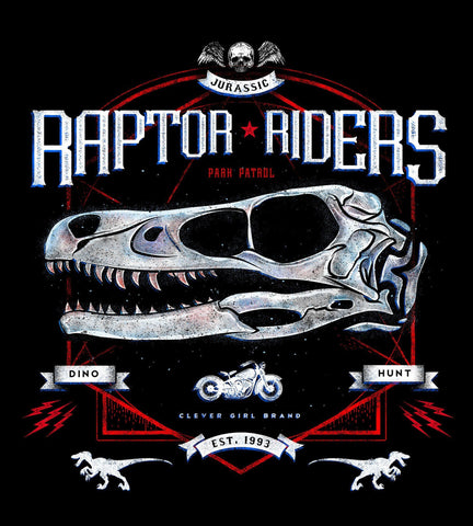 Raptor Riders Men's Shirt- The Pixel Empire
