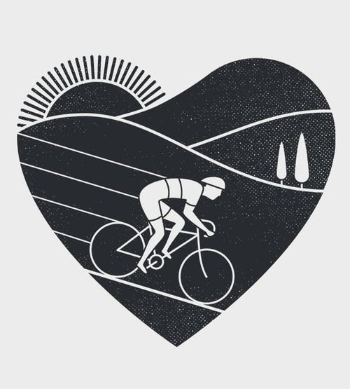 Love Cycling T-Shirts by Rick Crane - Pixel Empire