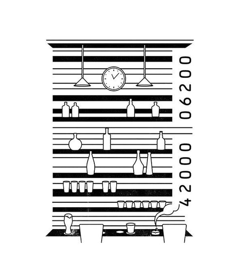 Barcode T-Shirts by Grant Shepley - Pixel Empire