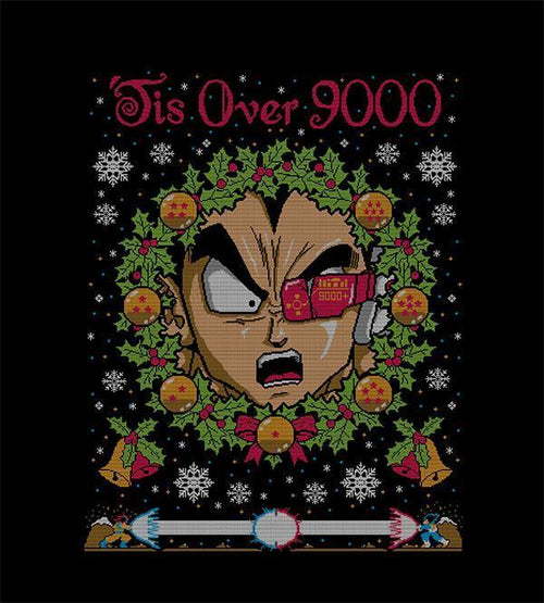 Tis Over 9000 T-Shirts by COD Designs - Pixel Empire