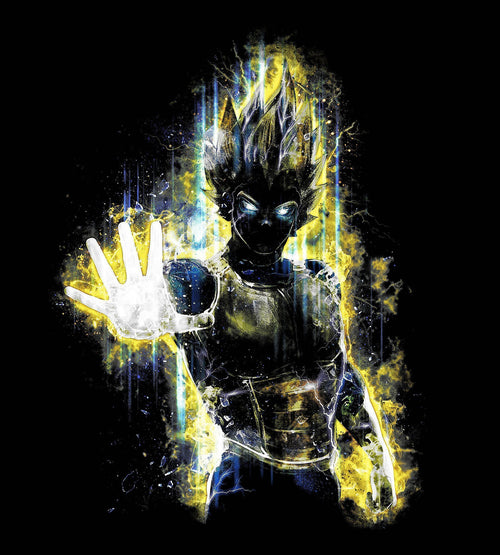 Vegeta T-Shirts by Barrett Biggers - Pixel Empire
