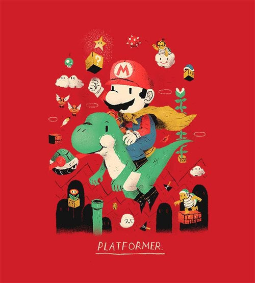Platformer Hoodies by Louis Roskosch - Pixel Empire