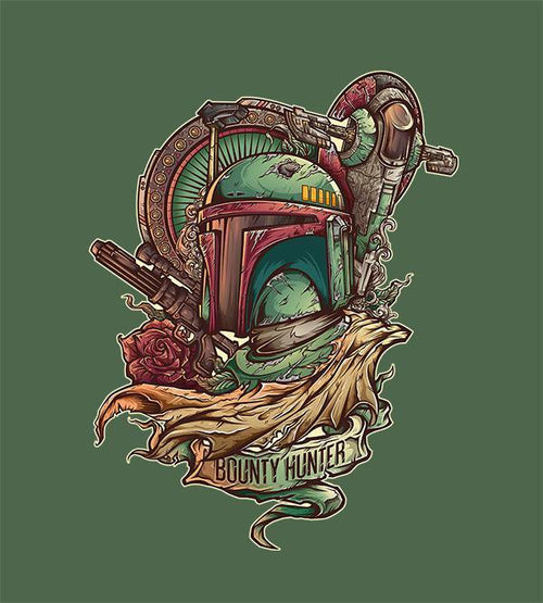 Bounty Hunter Hoodies by Juan Manuel Orozco - Pixel Empire