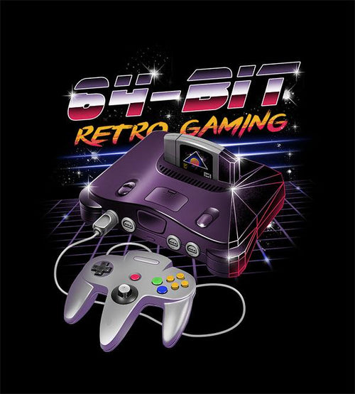 64-Bit Retro Gaming T-Shirts by Vincent Trinidad - Pixel Empire