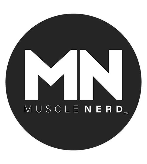 Muscle Nerd Logo Hoodies by Muscle Nerd - Pixel Empire