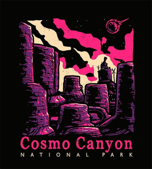 Cosmo Canyon Hoodies by Ronan Lynam - Pixel Empire
