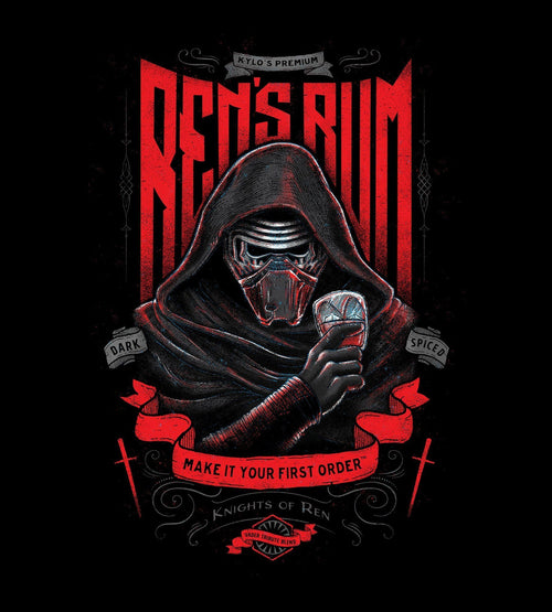 Ren's Rum T-Shirts by Barrett Biggers - Pixel Empire