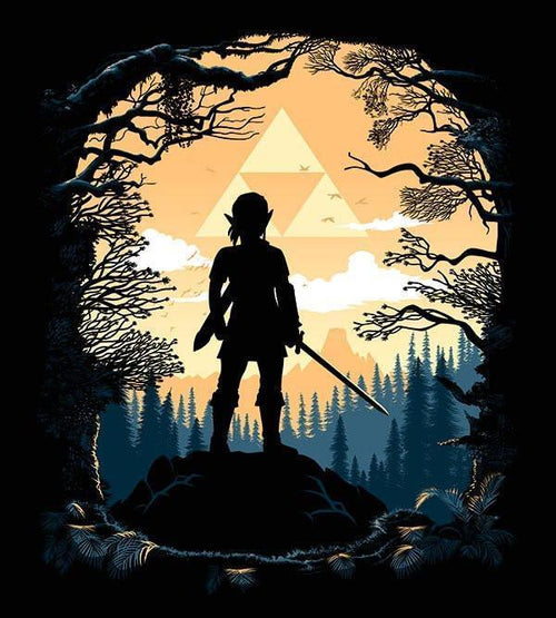 Warrior of the Forest T-Shirts by Alberto Cubatas - Pixel Empire