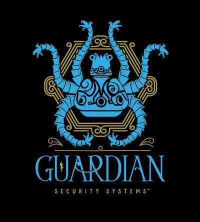 Guardian Security Systems T-Shirts by Barrett Biggers - Pixel Empire
