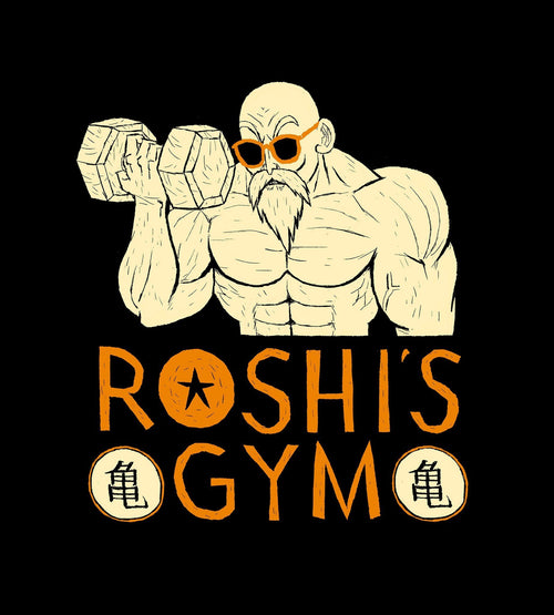 Roshi's Gym T-Shirts by Louis Roskosch - Pixel Empire