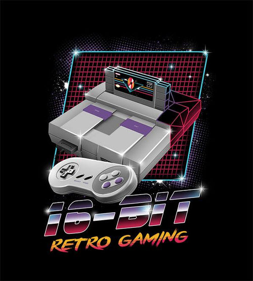 16-Bit Retro Gaming Hoodies by Vincent Trinidad - Pixel Empire