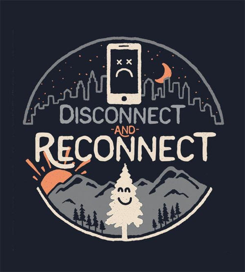 Reconnect T-Shirts by Rick Crane - Pixel Empire