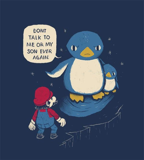 Don't Talk to Me or My Son Hoodies by Louis Roskosch - Pixel Empire