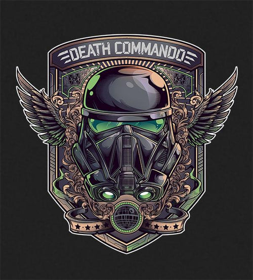 Death Commando Hoodies by Juan Manuel Orozco - Pixel Empire