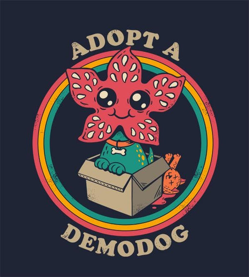 Adopt A Demodog Hoodies by Eduardo San Gil - Pixel Empire