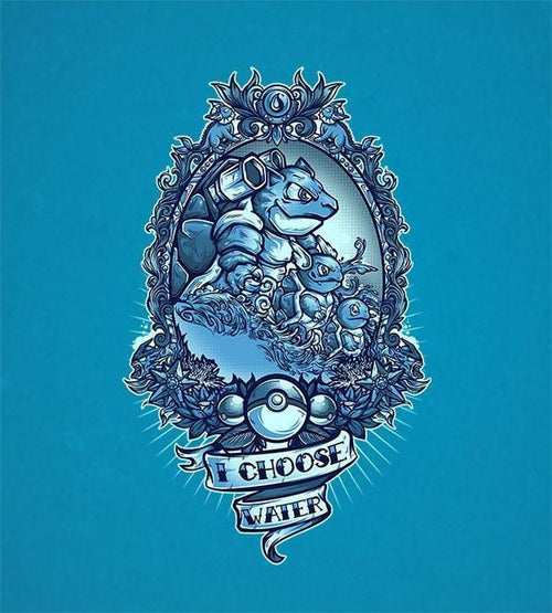 I Choose Water T-Shirts by Juan Manuel Orozco - Pixel Empire