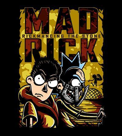 Mad Rick T-Shirts by COD Designs - Pixel Empire