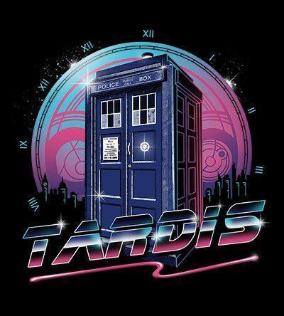 Rad Tardis Hoodies by Vincent Trinidad - Pixel Empire