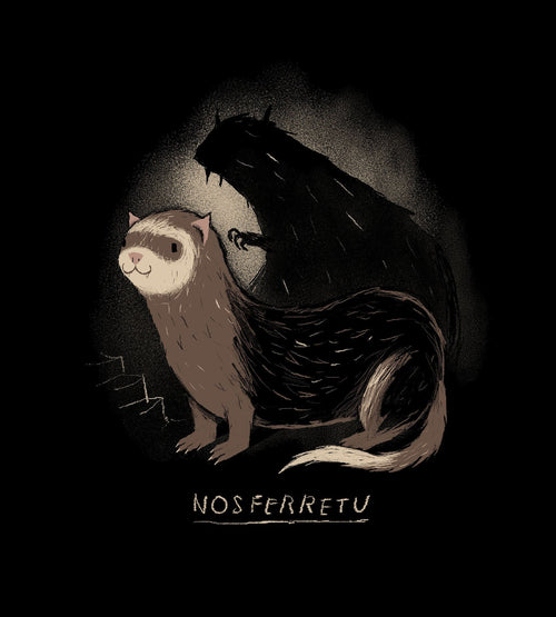 Nosferretu T-Shirts by Louis Roskosch - Pixel Empire