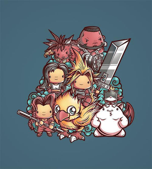 Cute Fantasy VII Hoodies by Juan Manuel Orozco - Pixel Empire