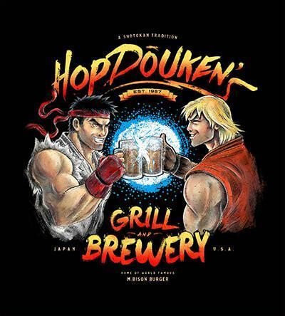 HopDouken's T-Shirts by Barrett Biggers - Pixel Empire