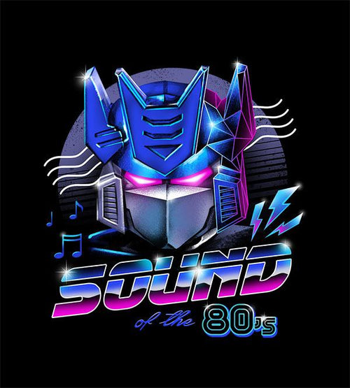 Sound of the 80s Hoodies by Vincent Trinidad - Pixel Empire