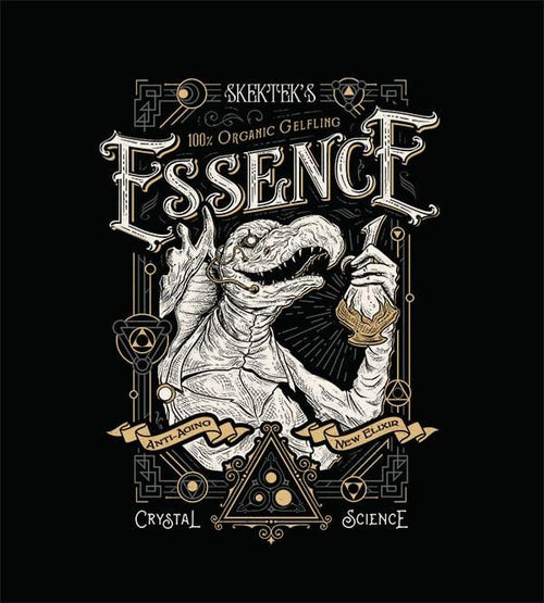 The Essence Elixer T-Shirts by Barrett Biggers - Pixel Empire