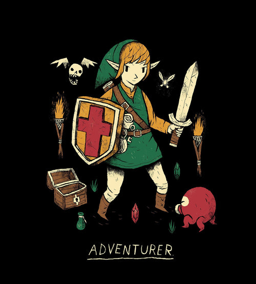 Adventurer T-Shirts by Louis Roskosch - Pixel Empire